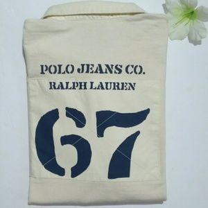 RARE Ralph Lauren POLO Long Sleeve Polo Shirt